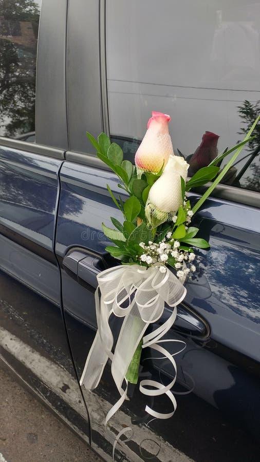 Novia automatique Flores de Puerta De Para image libre de droits