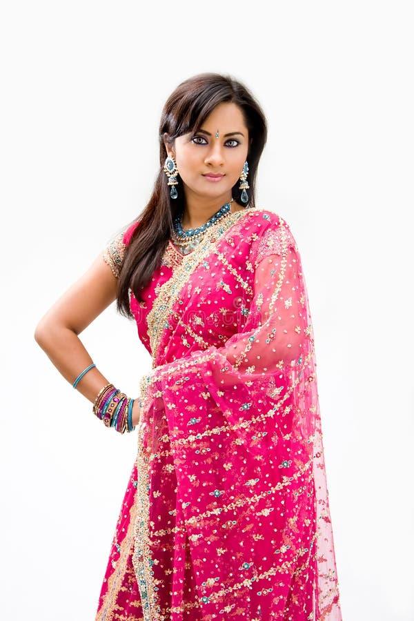 Novia Bengalí Hermosa Fotografía de archivo libre de regalías