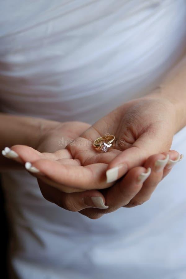 Novia de la boda foto de archivo libre de regalías