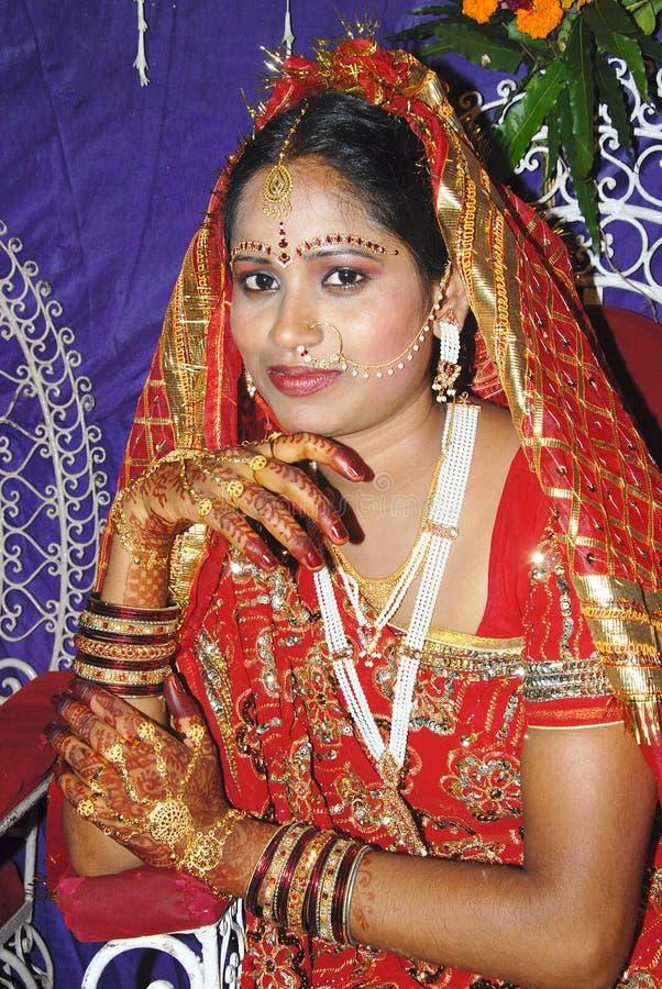 Novia india imagen de archivo