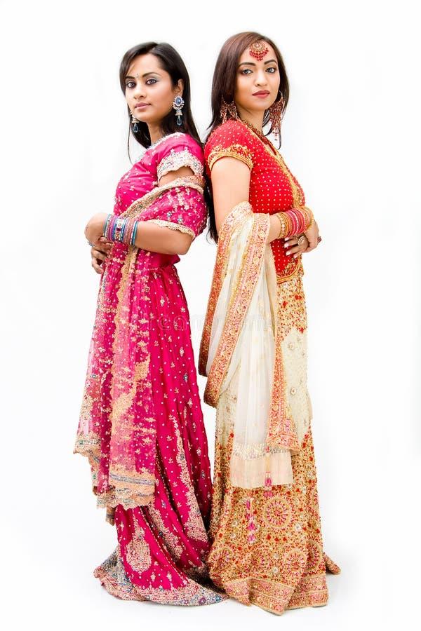Novias bengalíes hermosas fotografía de archivo