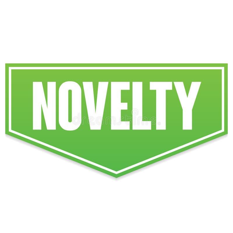 Novidade verde da bandeira do vetor imagens de stock royalty free