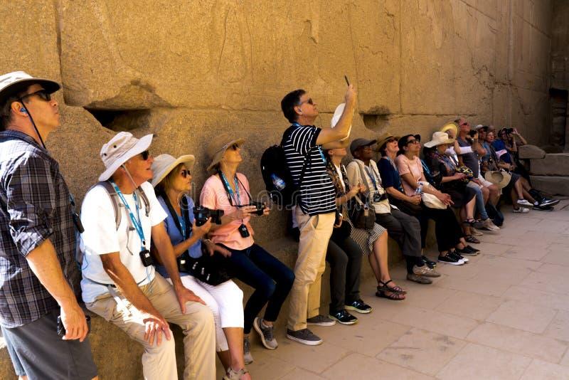 NOVIEMBRE 2019 EGIPTO - Expedición del LA Times a Egipto foto de archivo
