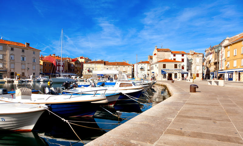 Novigrad Croatia. imagem de stock royalty free