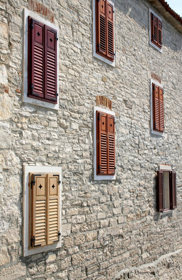 novigrad Croatia budynku. obraz royalty free
