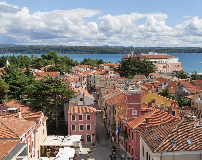 Novigradcityscape, Istria, Kroatië royalty-vrije stock afbeelding