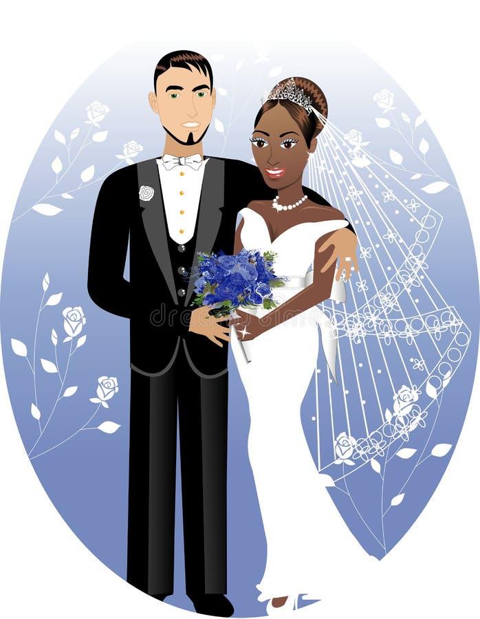 Novio 2 de la novia ilustración del vector