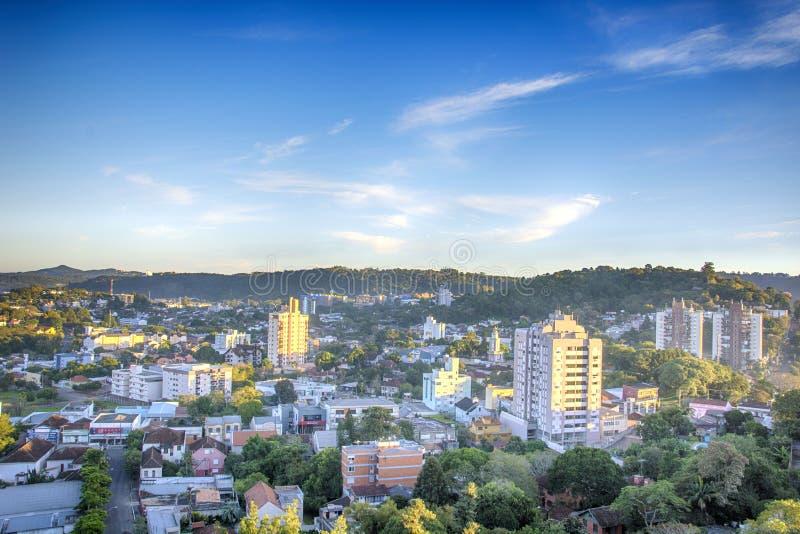 Novo Hamburgo, rio grande robi Sul, Brazylia: widok miasto od hotelu zdjęcie stock