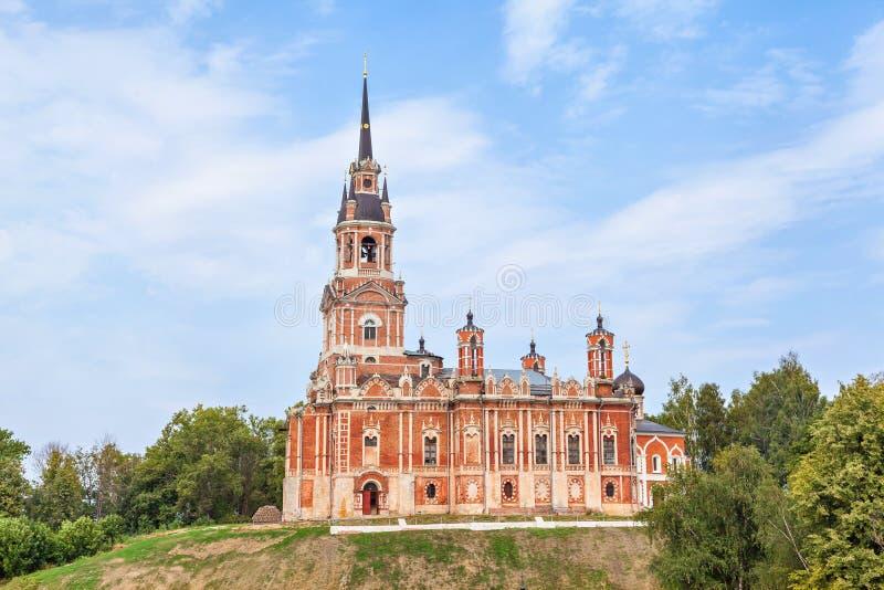 Novo-Nikolskykathedrale in Mozhaysk der Kreml stockfoto