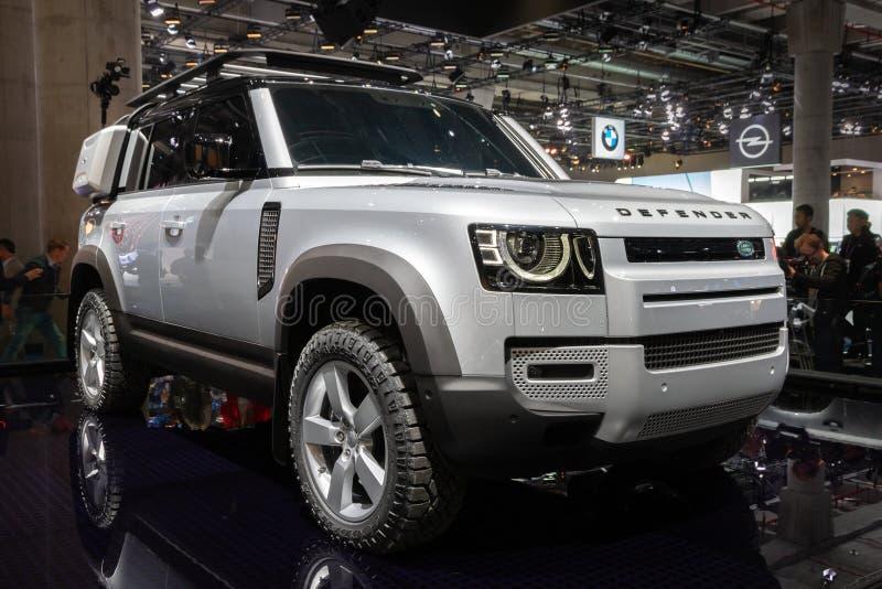 Novo veículo Land Rover Defender 2020 fotografia de stock