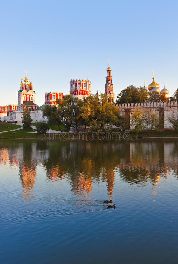 Download Novodevichiy Convent In Moscow Russia Stock Image - Image: 33566101