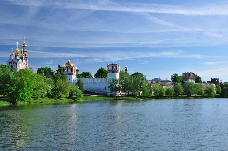Novodevichiy Kloster. Moskau. Russland. stockfotos