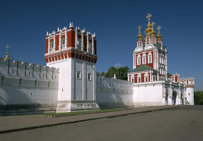 Novodevichy女修道院 库存图片