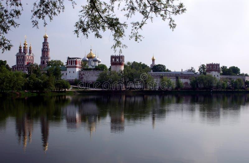 Novodevichy的修道院 库存图片