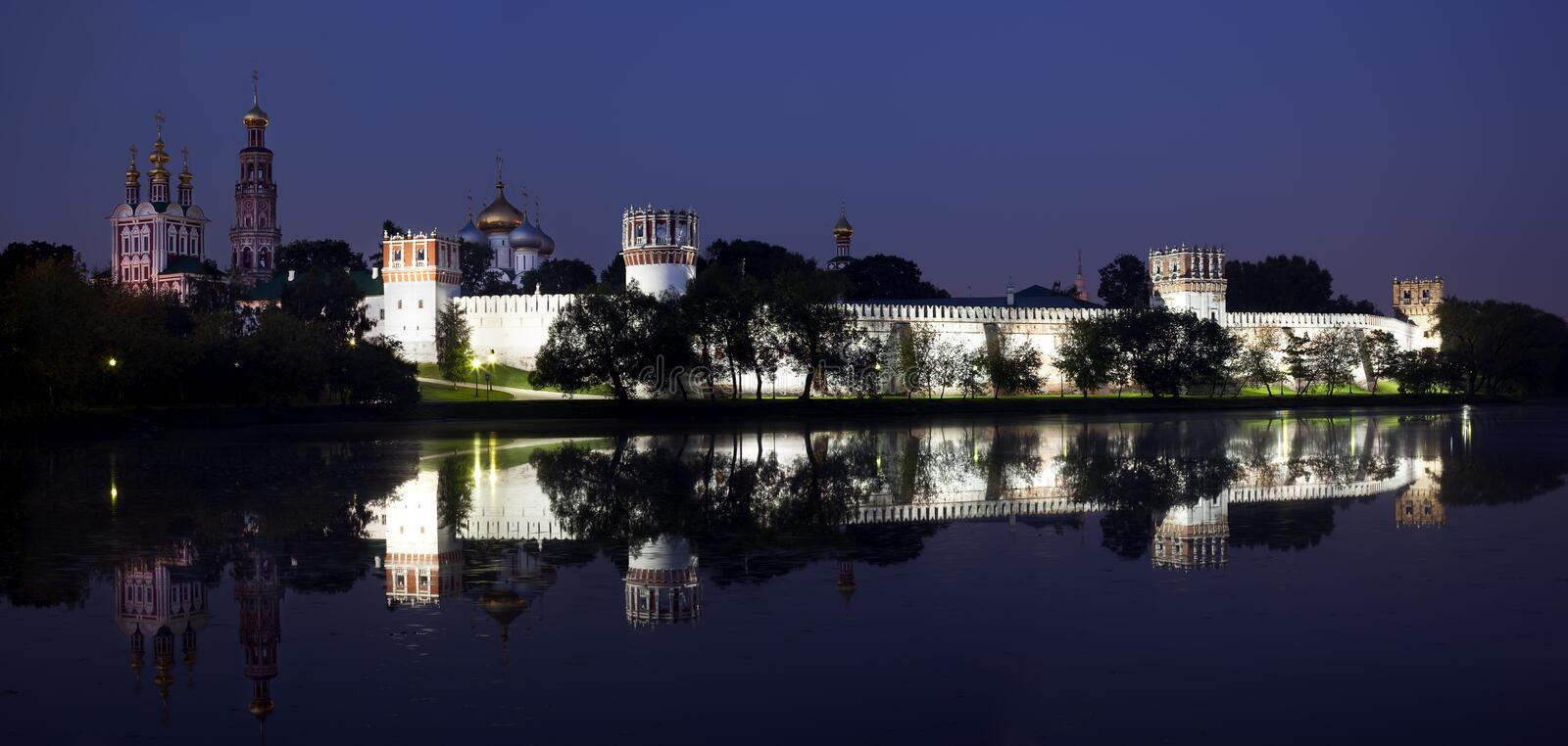 Download Novodevichy Convent stock image. Image of curch, convent - 10816031