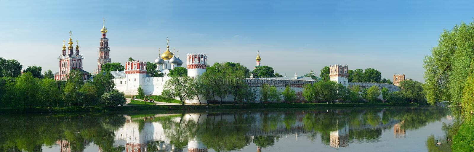 Novodevichy convent P royalty free stock photos