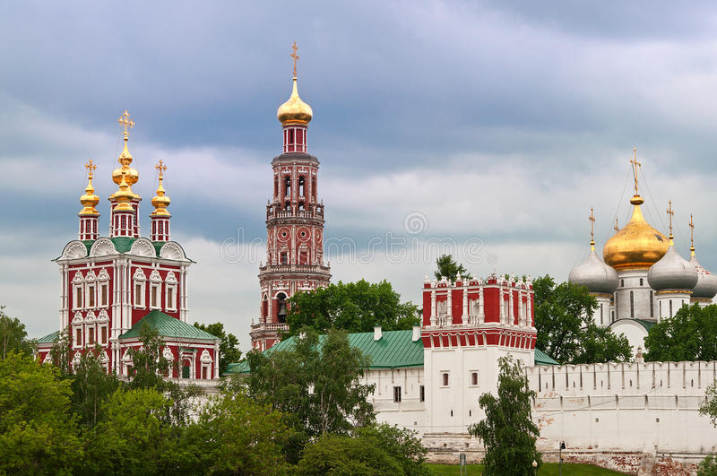 Novodevichy klasztor zdjęcie stock
