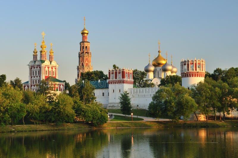 Novodevichy klasztor w Moskwa zdjęcie stock