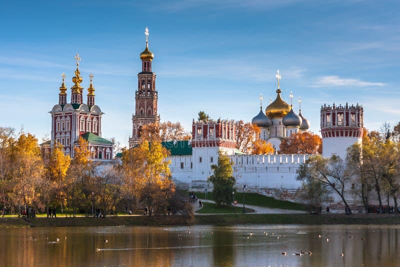 Novodevichy kloster, Moskva, Ryssland arkivfoto