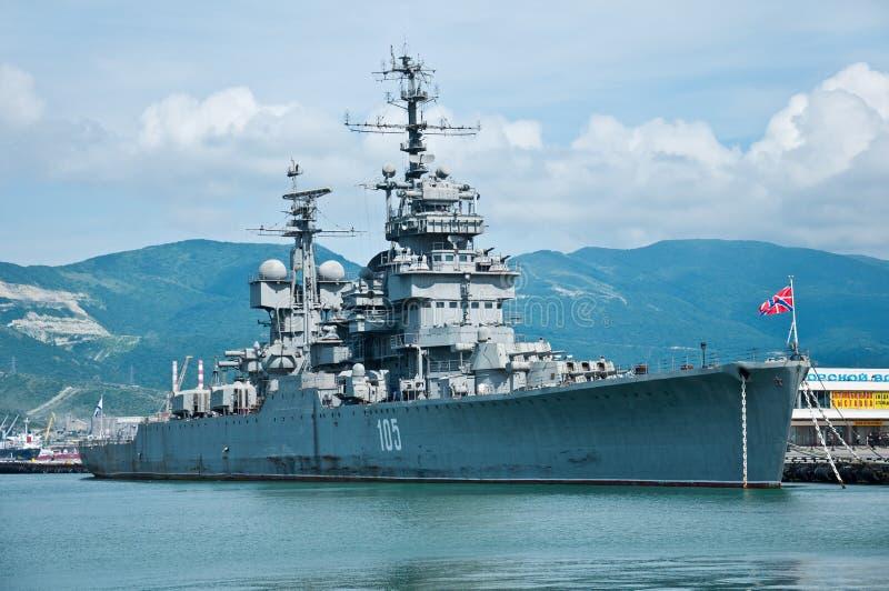 novorossiysk mikhail kutuzov крейсера стоковое изображение