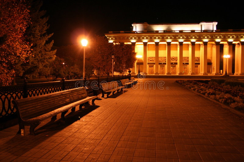 Novosibirsk lizenzfreie stockfotografie