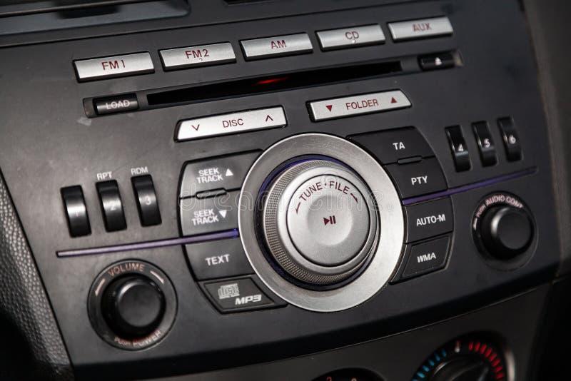 Novosibirsk, Rússia 14 de junho de 2019 Mazda 3 imagem de stock royalty free