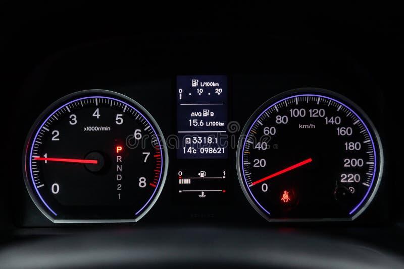 Novosibirsk Rosja, Luty, - 01, 2019: Honda CR-V zdjęcia stock