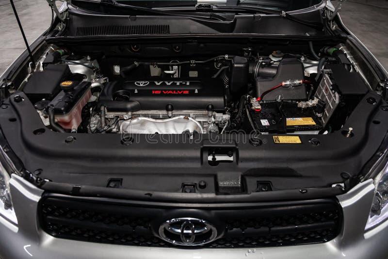 Novosibirsk Rosja, Luty, - 19, 2019: Toyota RAV-4 obraz royalty free