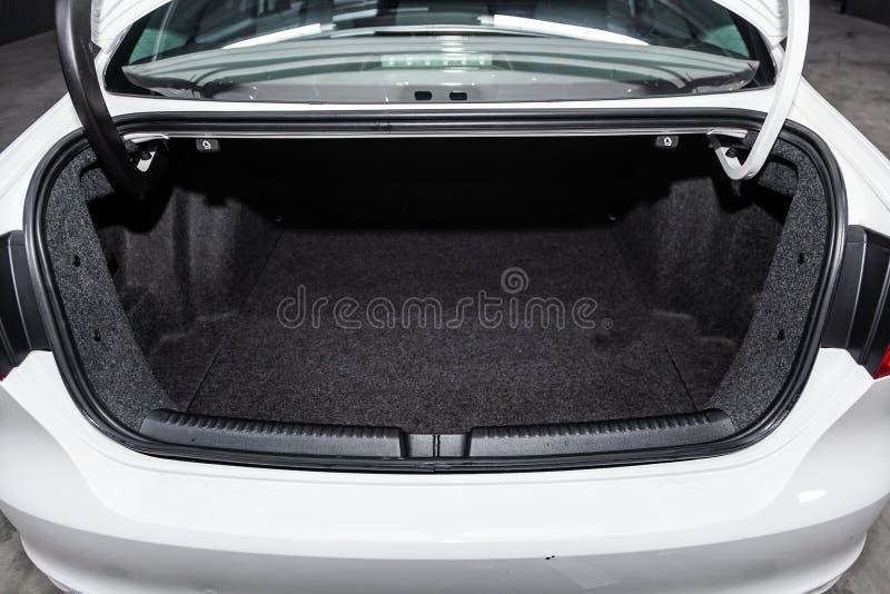 Novosibirsk, Rusland - Januari 25, 2019: Volkswagen Jetta royalty-vrije stock foto's