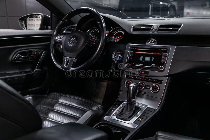 Novosibirsk, Rusland 30 Juli, 2019: Volkswagen Passat CC stock foto's