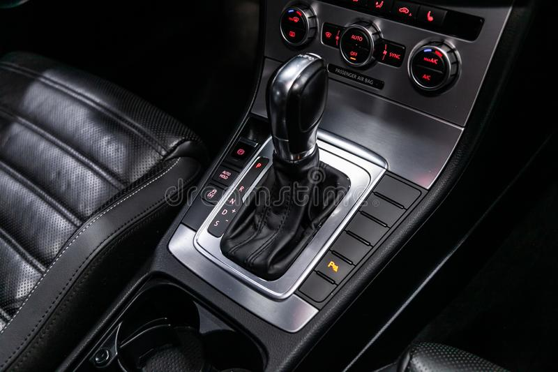Novosibirsk, Rusland 30 Juli, 2019: Volkswagen Passat CC stock foto