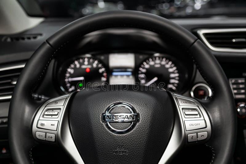 Novosibirsk, Rusland 22 Juni, 2019: Nissan Quashqai stock afbeeldingen
