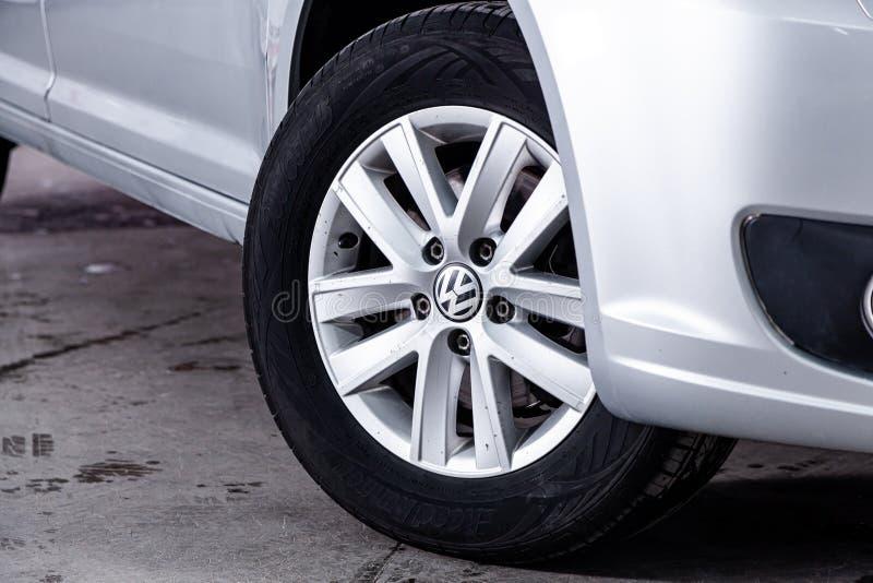 Novosibirsk, Russia – 22 giugno 2019: Carrello di Volkswagen immagini stock libere da diritti