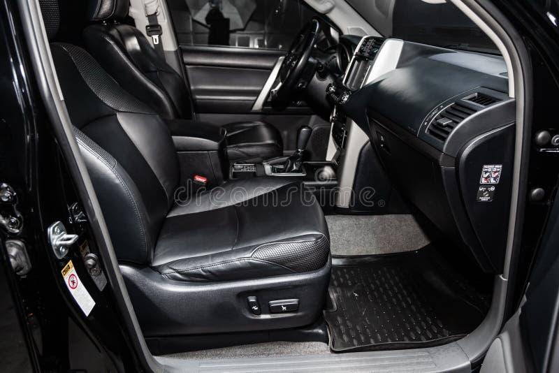 Novosibirsk, Russia - January 30, 2019: Toyota Land Cruiser Prado royalty free stock images