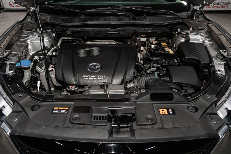 Novosibirsk, Russia - 10 marzo 2019: Mazda CX-5 immagini stock