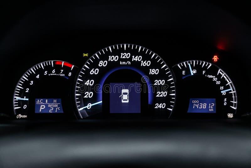 Novosibirsk, Russie – 22 juin 2019 : Toyota Camry photographie stock libre de droits