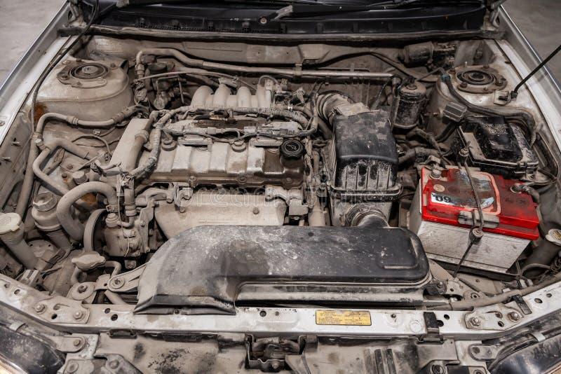 Novosibirsk, Russie le 14 juin 2019 Mazda Capella images libres de droits