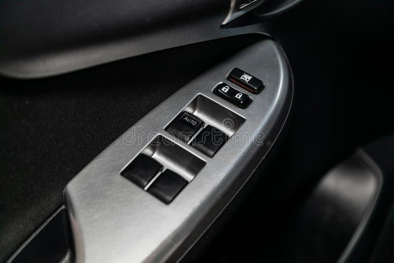 Novosibirsk Ryssland - Maj 31, 2019: Toyota Corolla arkivfoton
