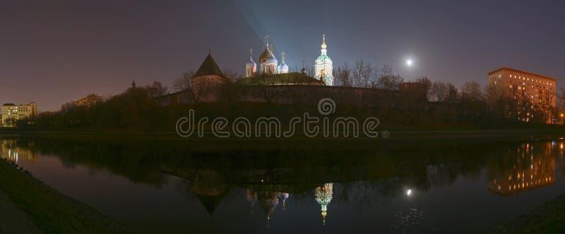 novospassky的修道院 库存图片
