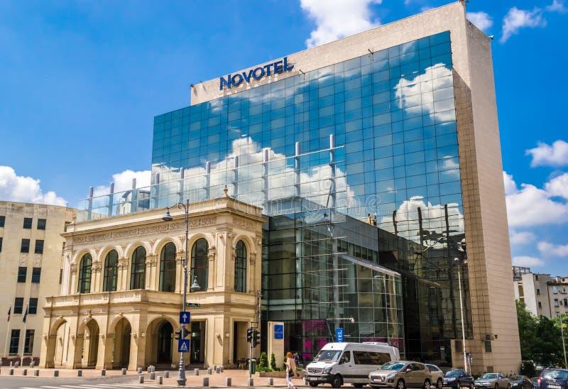 Novotel hotell arkivbild