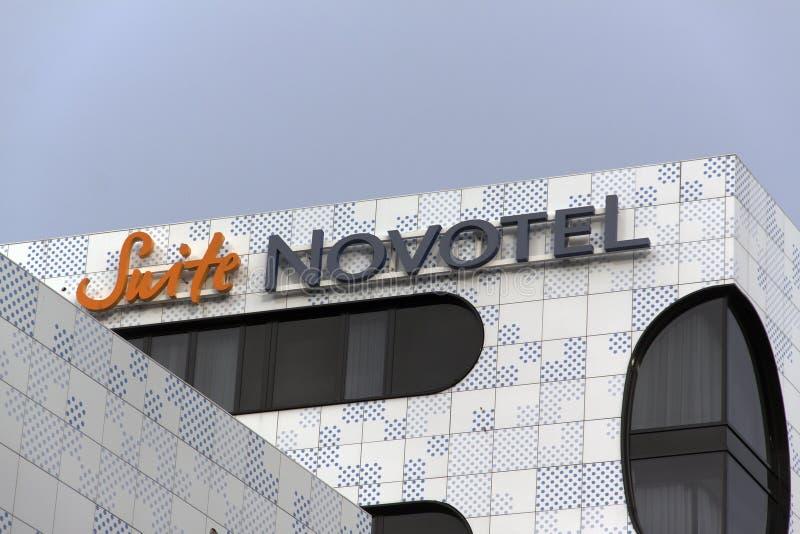 Novotel hotell arkivfoto