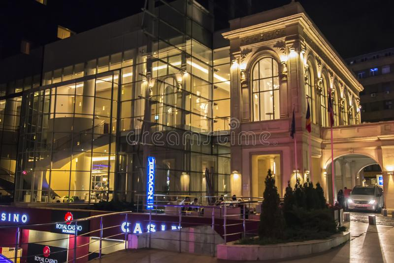 Novotel hotell i Bucharest arkivbilder