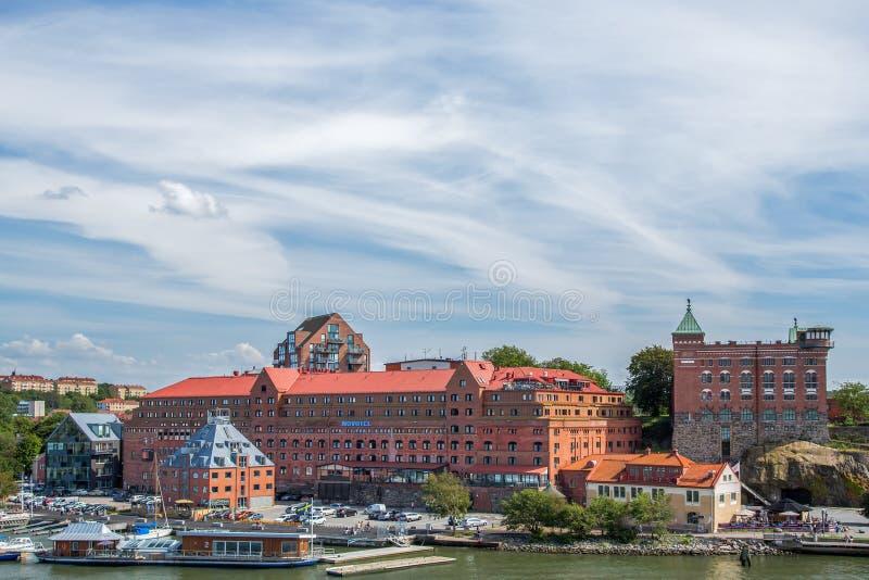 Novotel hotell i Göteborg royaltyfri foto