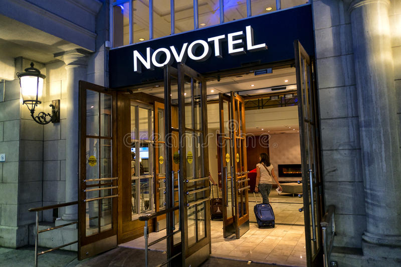 Download Novotel editorial image. Image of modern, north, american - 34307940