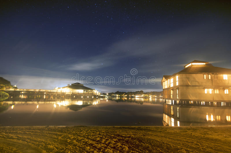 Novotel - Twin Waters Resort. Sunshine Coast, Australia - July 1st, 2014: Hotel in the Sunshine Coast that offers 4 star accommodations and is centrally located royalty free stock images