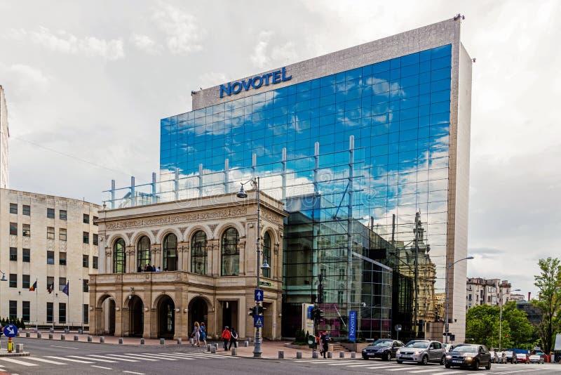 Novotelen Bucharest royaltyfri bild