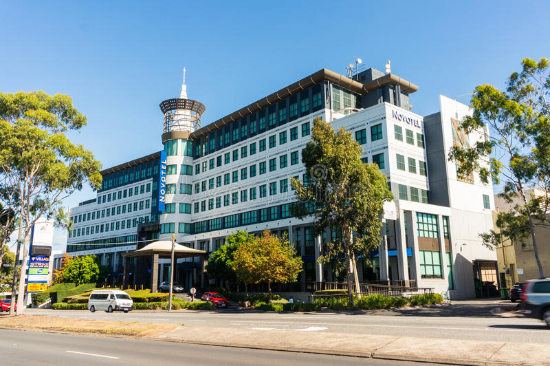 Novotelhotel in Glen Waverley in Melbourne, Australië stock afbeelding