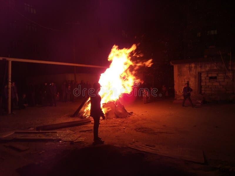 Novroz w Baku Azerbejdżan zdjęcie stock