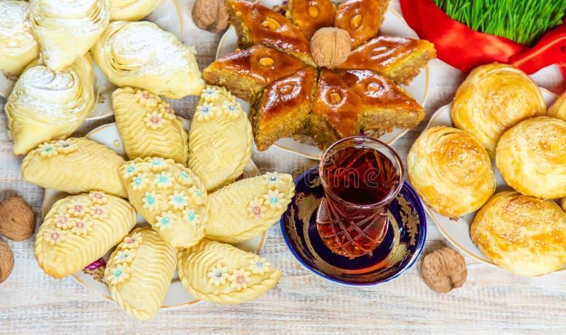 Novruz. Azerbaijani traditions. New Year. Selective focus royalty free stock image