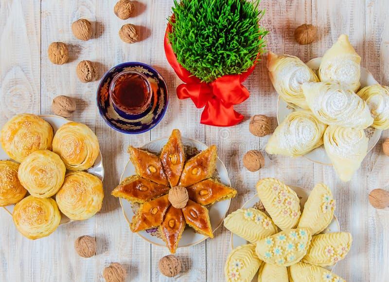 Novruz. Azerbaijani traditions. New Year. Selective focus royalty free stock photography